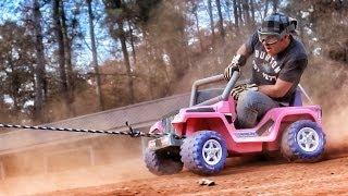 Cardboard Rodeo - Crazy And Super Fun!