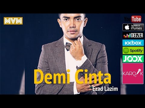 [ost Tv3 Drama-umairah] Ezad Lazim - Demi Cinta (official Lyrics Video) Lirik Full Song