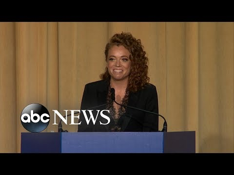 Michelle Wolf performs stand-up routine at White House Correspondent's dinner