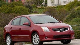 2011 Nissan Sentra Review, Walk Around, Start Up&Rev, Test Drive