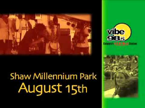 Calgary ReggaeFest 2009 Global TV commercial