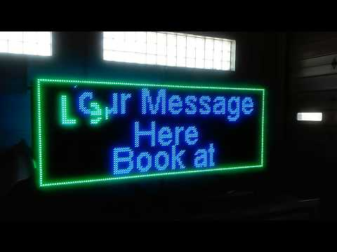 LED Sign Advertiser v2 Lease for $377/month Ready To USE today