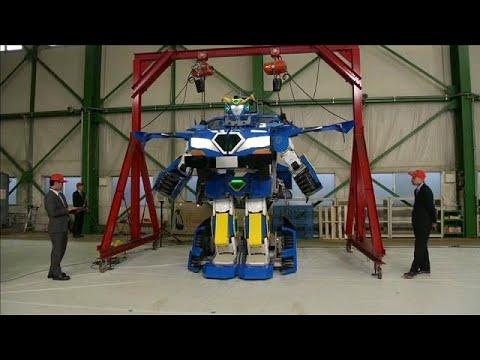 العرب اليوم - روبوت يتحول إلى سيارة مأهولة في دقيقة واحدة