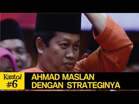 Ahmad Maslan bodoh strategy