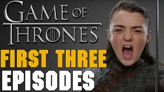 Video Description ▭▭ HBO has released the titles and synopsis of the first three episodes of Game of Thrones Season 7. Lets take a look and break them down ...