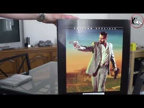 Unboxing Max Payne 3 Edition Collector (Euro Version)