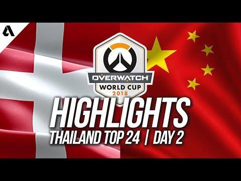 China vs Denmark | Overwatch World Cup 2018 Thailand Qualifier Day 2