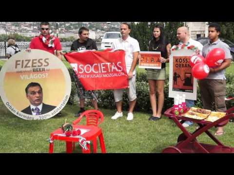 Orbán-búcsúztató piknik