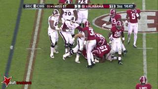 Landon Collins vs Mississippi State (2014)