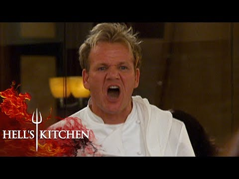 Gordon Ramsay Can't Take Overcooked Chicken & Throws It | Hell's Kitchen