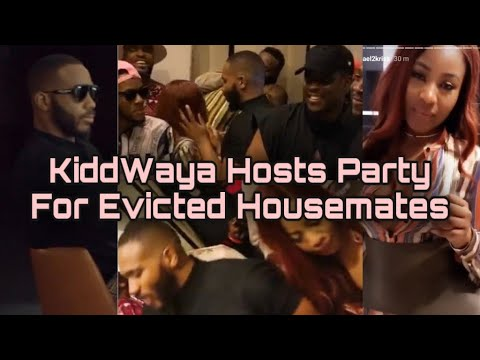 BBNaija Kiddwaya Hosts Saturday Night Party | Erica, Other BBNaija 2020 Evicted Housemates Attend
