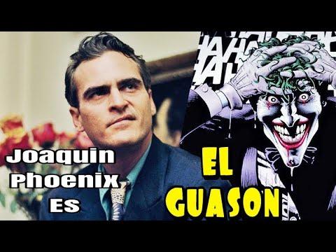 Joaquin Phoenix Confirmado Como EL GUASON