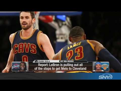 Video: Frank Isola stands by report about LeBron, updates Carmelo status
