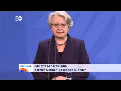 German education minister resigns   Journal