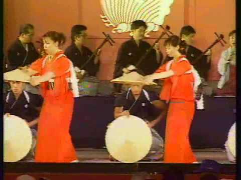 Impressive Dancing  Jyouhana Mugiya Festival