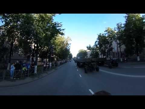 ВЛуки.ру: Репетиция парада на 850 летие города Великие Луки 360°