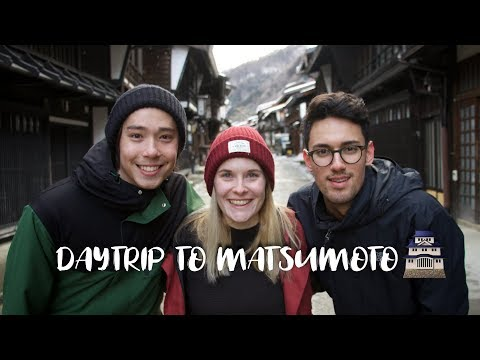Visiting an old Japanese village and Matsumoto Castle