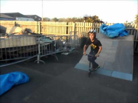 Kieran O`Reilly Grit Scooters Elite 2