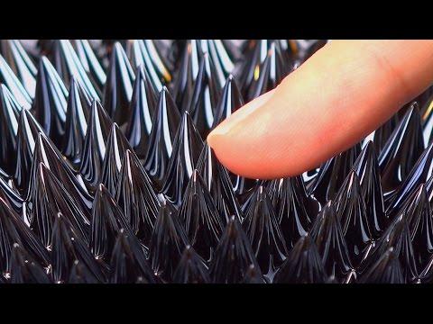 Monster magnet meets magnetic fluid...