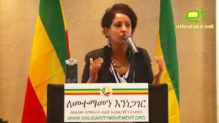 An urgent call to all Ethiopians to embrace a common vision based on principles