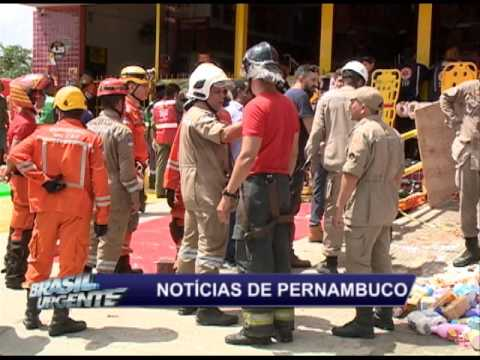 Teto de supermercado desaba e deixa feridos no Jordão Baixo