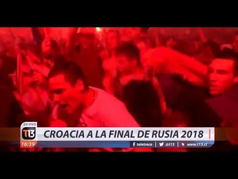 ¡Fin del partido! Croacia vence 2-1 a Inglaterra y pasa a la final de Rusia 2018