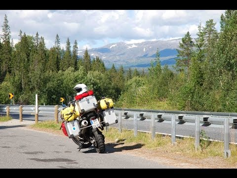 Motorcycle Tour to Norway (Cologne - North Cape) - Part 3 (Crossing the Arctic Circle)