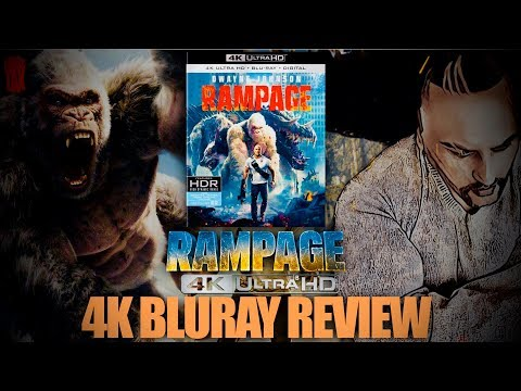 Rampage 2018 4K Bluray Review I Dolby Vision