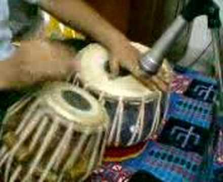 tabla gharana - In this video pt.Kishore Banerjee teaches Tabla lesson of
