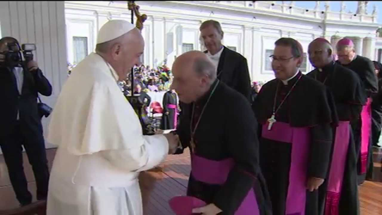 October 1: Audience with Pope Francis