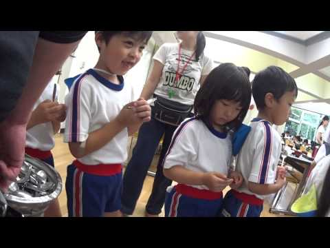 ともべ幼稚園「夕食」