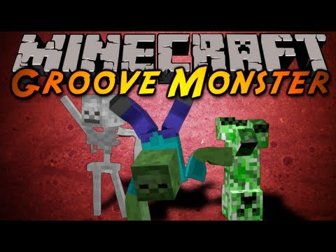 Minecraft Mod Showcase : Groove Monster!