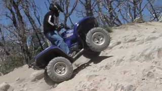 8. ATV Television Test - 2009 Yamaha Grizzly 550EPS