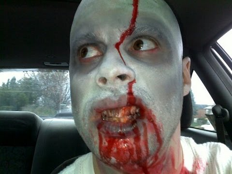 Zombie Drive-Thru Prank