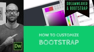 How to customize bootstrap - Dreamweaver Tutorial [11/54]