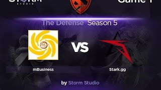 STARK vs mBusiness, game 1