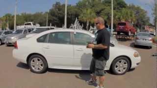 Autoline's 2011 Chevrolet Impala LT Walk Around Review Test Drive