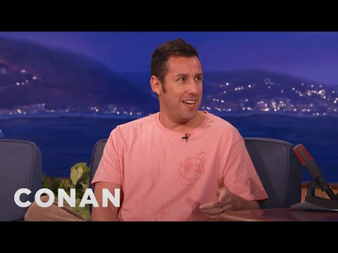 Adam Sandler's SNL Meals With Chris Farley & Michael Keaton  – CONAN on TBS