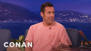 Video Adam Sandler's SNL Meals With Chris Farley & Michael Keaton  - CONAN on TBS MP3, 3GP, MP4, WEBM, AVI, FLV Maret 2018