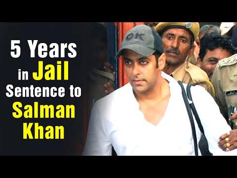 Five years in Jail Sentenced to Salman Khan