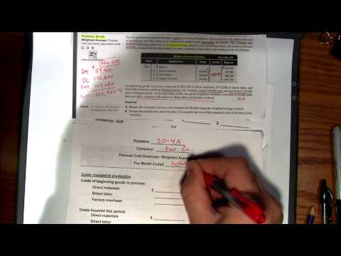 Accounting 2 – ACCT 122 – Program #229 – Process Cost Accounting