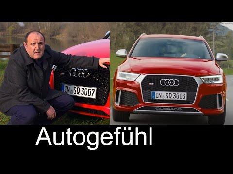 2015/2016 Audi RS Q3 & Audi Q3 Facelift test drive REVIEW – Autogefühl