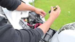 7. 2011 Yamaha R1 Akrapovic exhaust installation