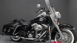 4. 2008  HARLEY DAVIDSON  FLHRC ROAD KING CLASSIC - National Powersports Distributors