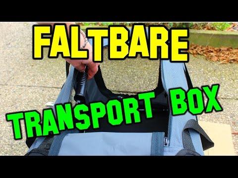 Hundetransportbox faltbar S - XXL Test 2017 | Hundetransport Tasche