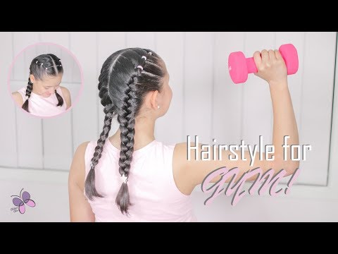 Braid hairstyles - Hairstyle for Sports or Gym  Hairstyles for Girls  Braided Hairstyles  2019 Hairstyles