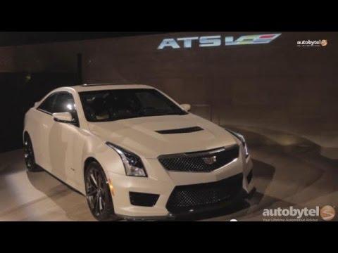 #LA Auto Show: 2016 Cadillac ATS-V First Look