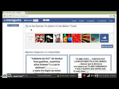 Como Hacer Su Propia Frases Para Facebook ETC Gratis y Sin (Programas)