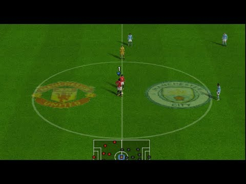 PES 2018 (PS2) Manchester United Vs Manchester City - Premier League