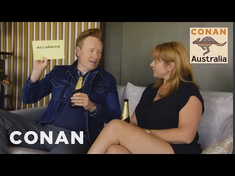 Conan O Brien Learns Australian Slang
